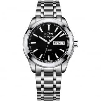 Men's Legacy Black Day-Date Dial Swiss Watch GB90173/04