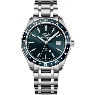 Men's Legacy GMT Blue Dial Swiss Watch