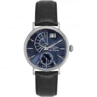 Men's Les Originales Blue Dial Big Date Watch