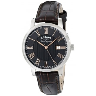 Men's Les Originales Brown Classic Strap Watch GS90075/04