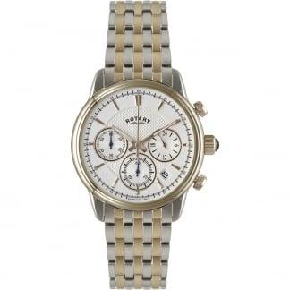 Men's Monaco Two Tone Chronograph Watch GB02877/06