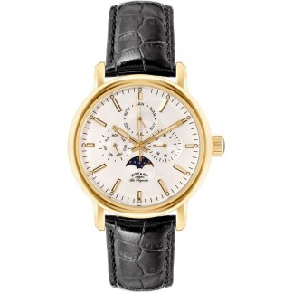 Men's Moonphase Gold Plated Les Originales Watch