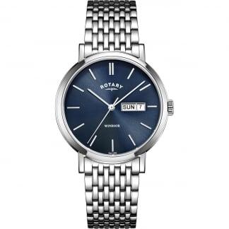 Men's Quartz Windsor Watch With Day/Date GB05300/05