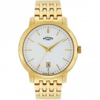 Men's Sloane Gold Plated Bracelet Watch GB02462/01