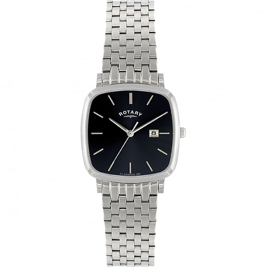 Rotary Men's Stainless Steel Dress Watch GB02400/04