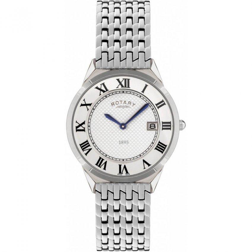 Rotary Men's Steel Bracelet Ultra Slim Watch GB08000/21