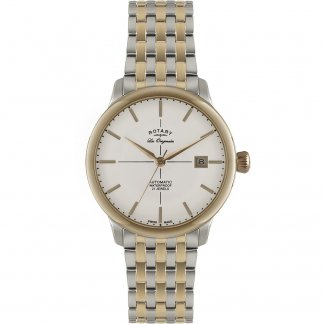 Men's Two Tone Burlington Collection Swiss Automatic Watch