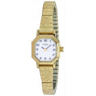Women's Traditional Gold Tone Expander Watch LBI00764/29