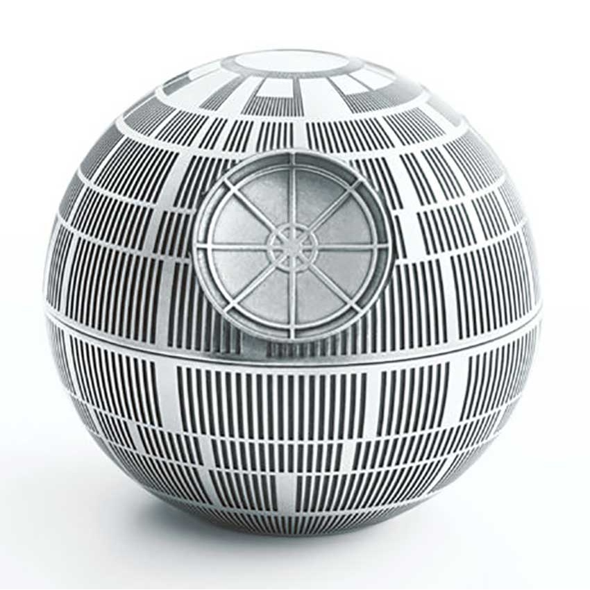 Royal Selangor Star Wars Death Star Pewter Trinket Box 016808R