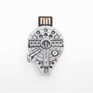 Star Wars Pewter Milennium Falcon Flash Drive (16GB) 016606R