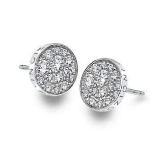 Scintilla Stone Set Silver Earrings