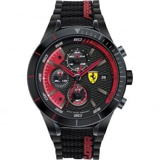Men's RedRev Evo Black/Red Chronograph Watch 0830260