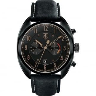 Men's Black Leather Formula Italia Watch 0830145