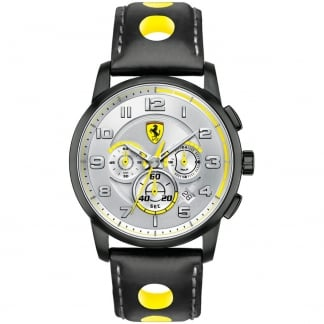 Men's Heritage Chronograph Sports Strap Watch 0830056