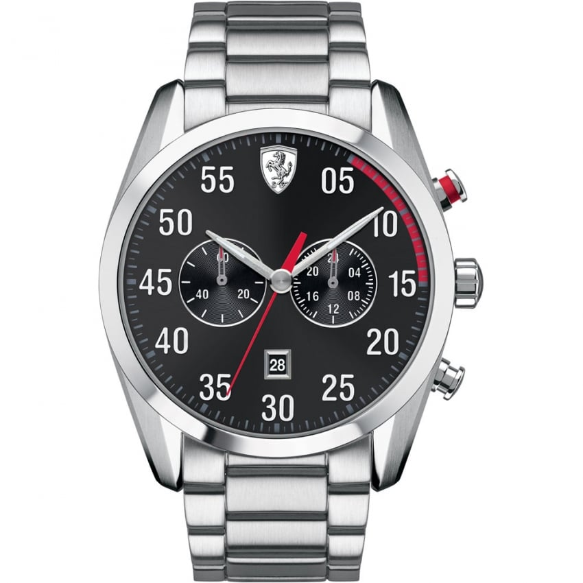 Scuderia Ferrari Men's DS50 Chronograph Watch with Red Accents 0830176