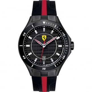 Men's Race Day Watch with Rubber Strap 0830079