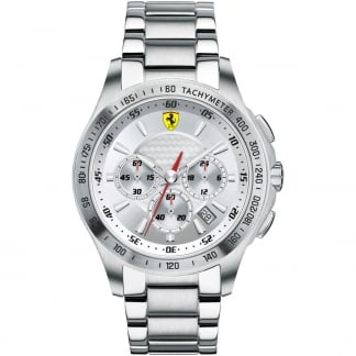 Men's SF105 Stainless Steel Chronograph Watch 0830047