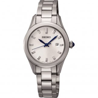 Ladies Classic Steel Date Display Watch
