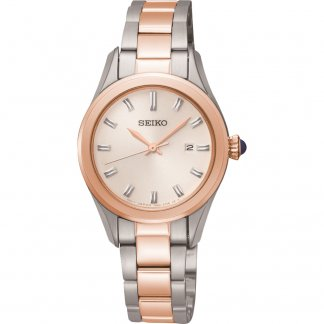 Ladies Classic Two Tone Watch with Date SXDF68P1