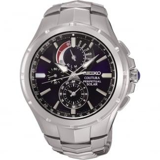 Men's Coutura Perpetual Calendar Solar Bracelet Watch SSC375P9
