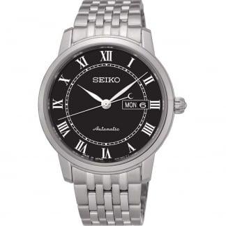 Men's Presage Black Dial Automatic Watch SRP765J1