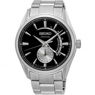 Men's Presage Black Dial Automatic Watch