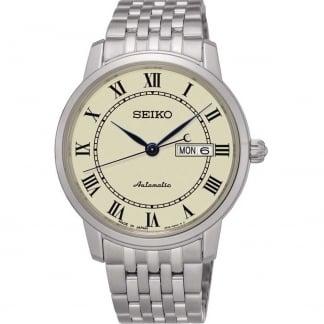 Men's Presage Cream Dial Automatic Watch SRP763J1