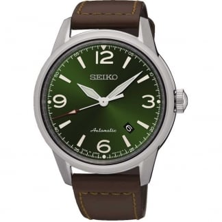 Men's Presage Green Dial Automatic Watch