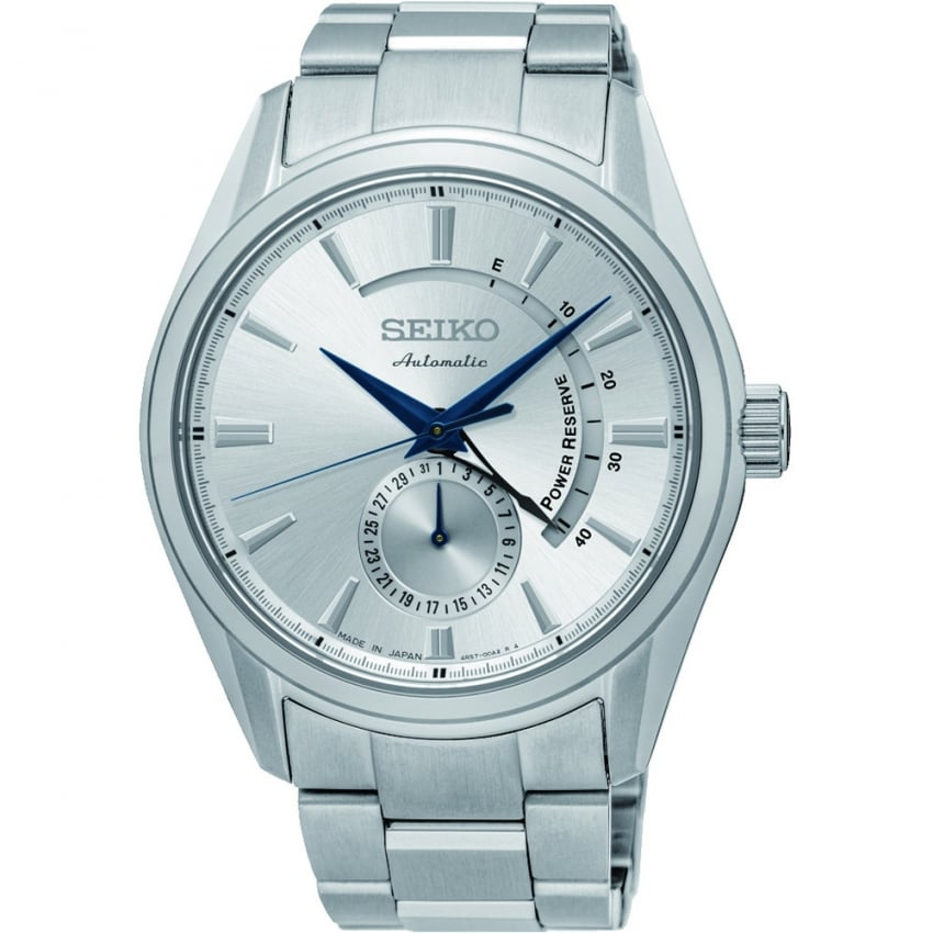 Seiko Men's Presage Stainless Steel Automatic Watch SSA303J1