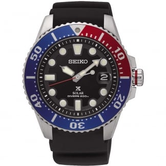 Men's Prospex Pepsi Bezel Rubber Diver's Watch SNE439P1