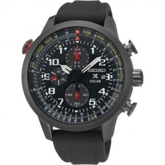 Men's Prospex Pilot Chrono Resin Strap Solar Watch