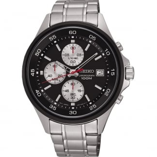 Men's Stainless Steel Chronograph 100M Watch SKS483P1