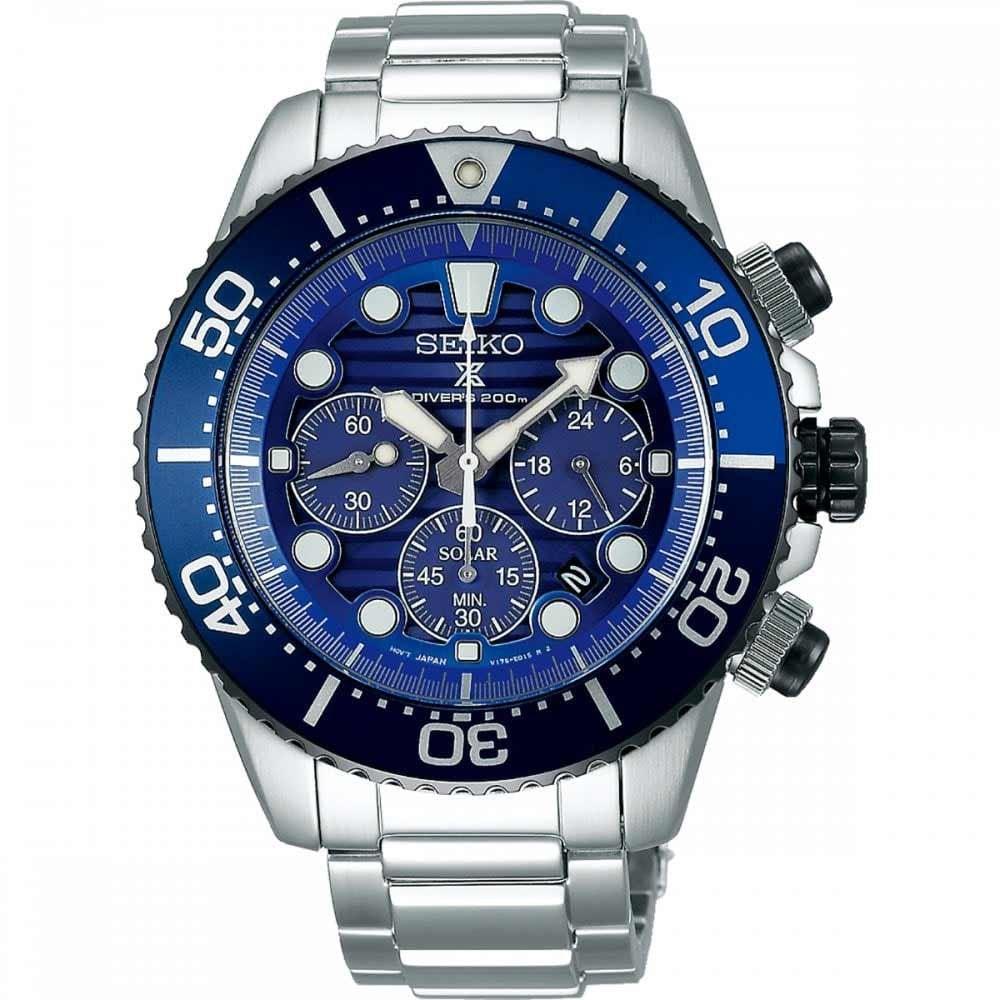 Seiko Prospex Men's Save the Ocean Special Edition Solar Diver Watch