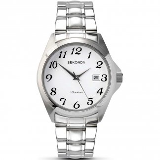 Classic Men's Stainless Steel Quartz Watch