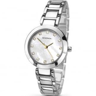 Ladies Mother of Pearl Dial Bracelet Watch 2064