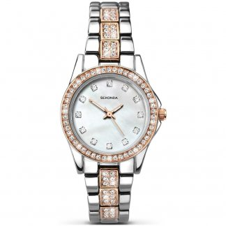 Ladies Starfall Two Tone Bracelet Watch 2019