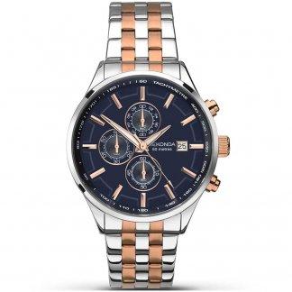 Men's Velocity Two Tone Chronograph Watch 1107
