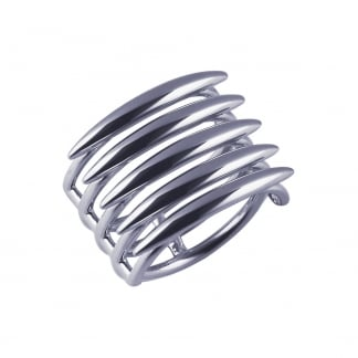 Sterling Silver Quill Ring SLS558