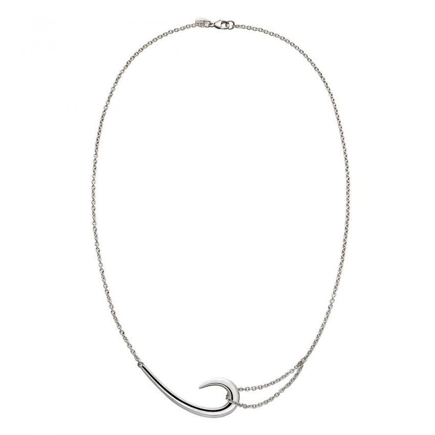 Shaun Leane Sterling Silver Signature Tusk Hook Necklace SLS482