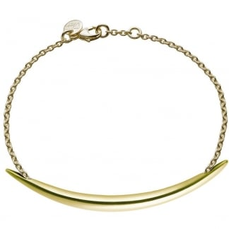 Yellow Gold Vermeil Quill Bracelet SLS566GP