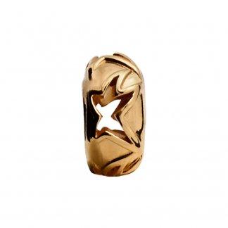 Shooting Star Gold Charm E25303