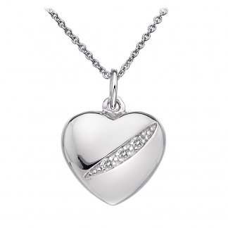 Shooting Stars Heart Pendant