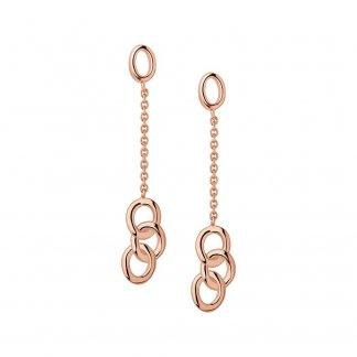 Signature Rose Gold Mini Dropper Earrings 5040.2406