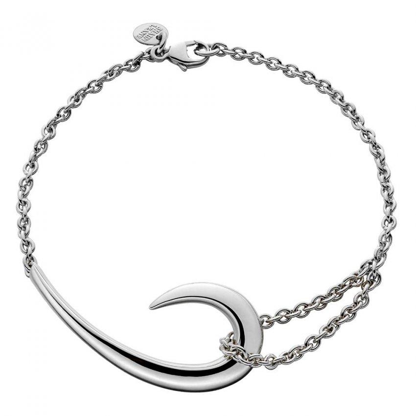 Shaun Leane Signature Tusk Sterling Silver Hook Bracelet SLS476