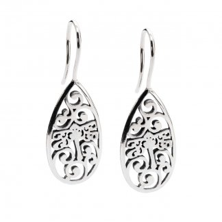 Silver Dragonfly Beauty Earrings TAGEA-00065