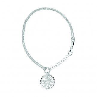 Silver Dream Catcher Bracelet