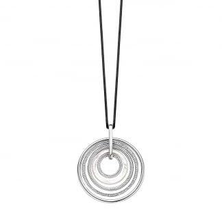 Silver & Mother of Pearl Circles Pendant