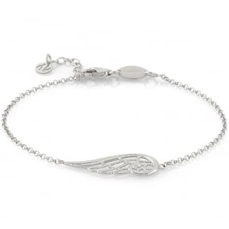 Single Angel Wing Bracelet