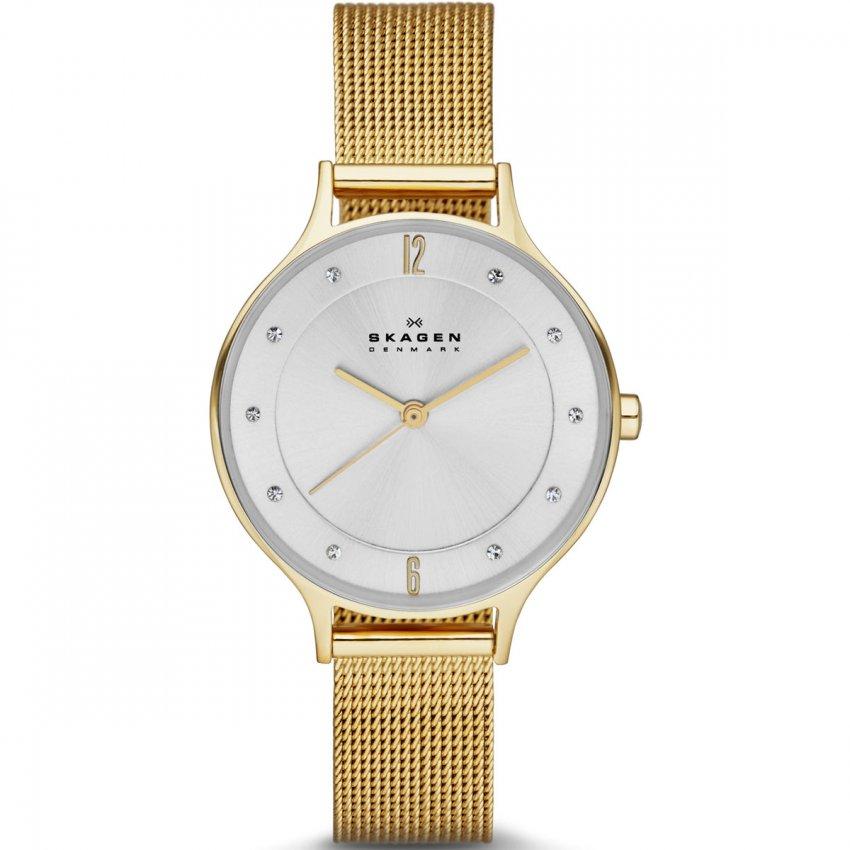 gold skagen watches