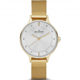 Ladies Anita Relaxed Gold Bracelet Watch
